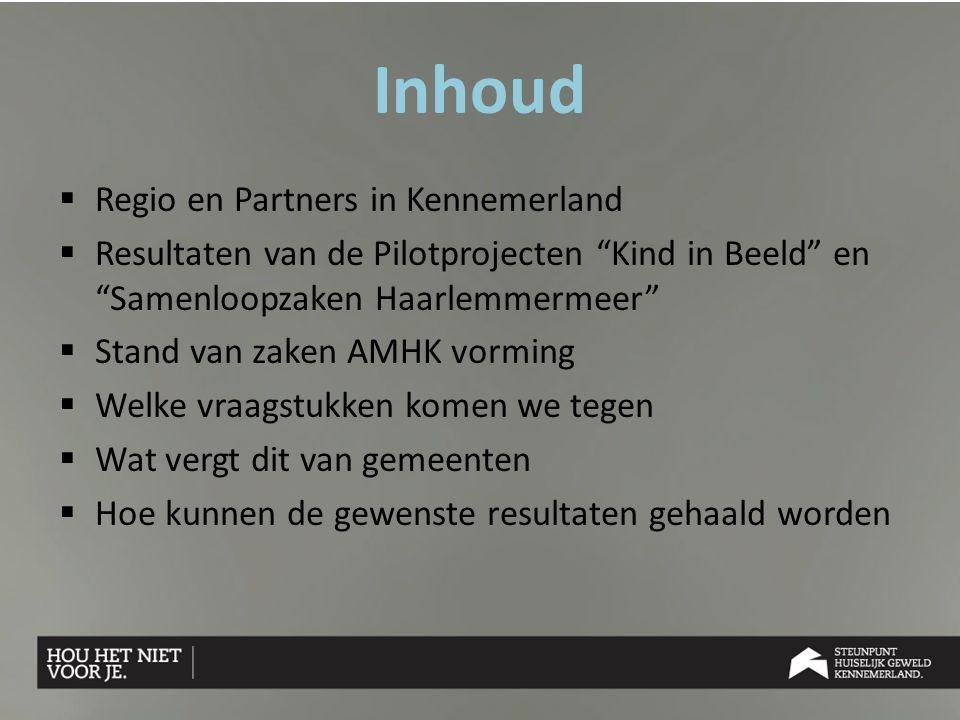 Inhoud Regio en Partners in Kennemerland