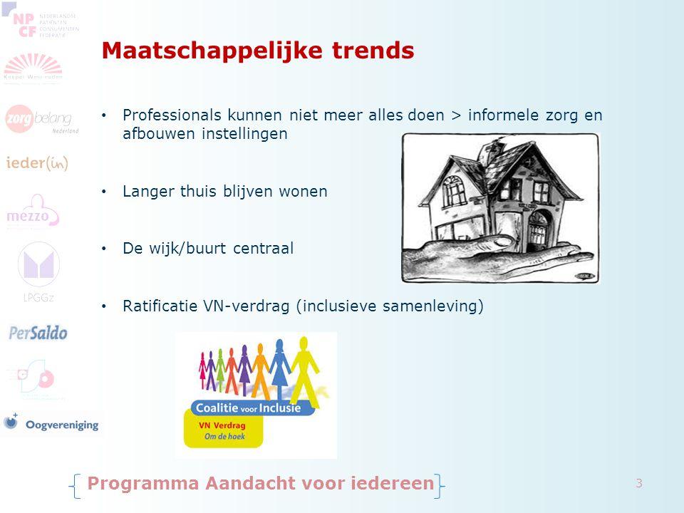 Maatschappelijke trends
