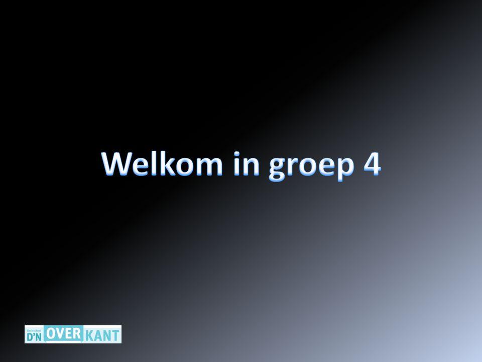 Welkom in groep 4