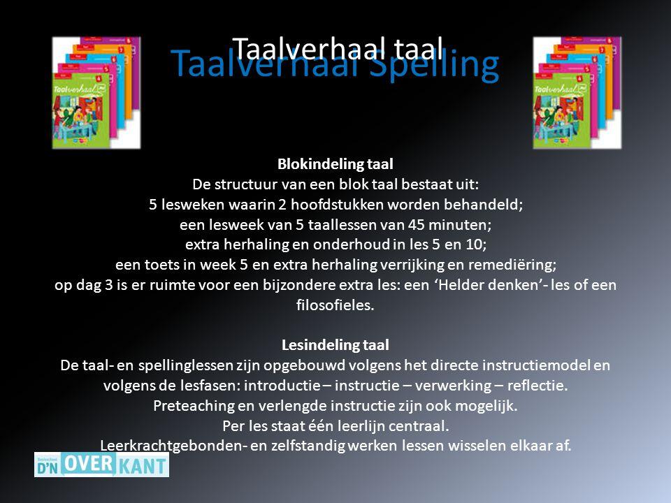 Taalverhaal Spelling Taalverhaal taal