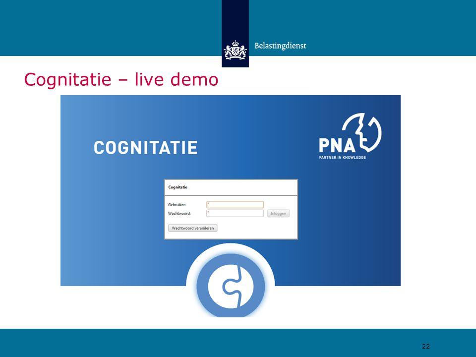 Cognitatie – live demo