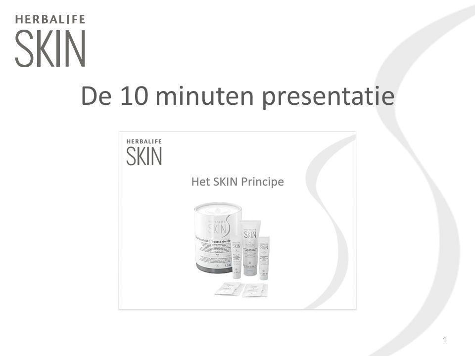De 10 minuten presentatie