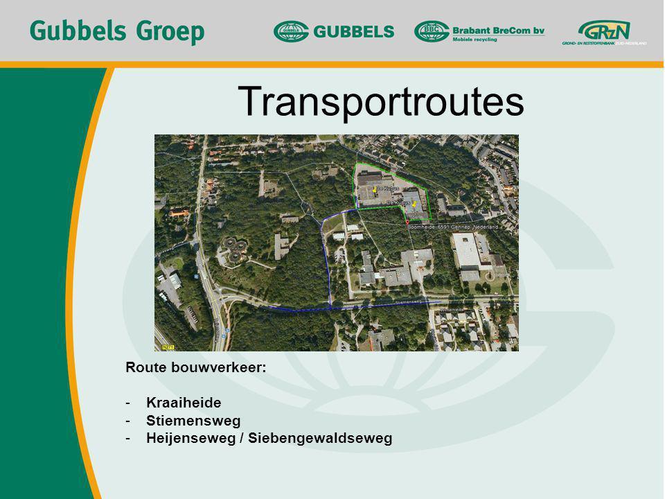 Transportroutes Route bouwverkeer: Kraaiheide Stiemensweg