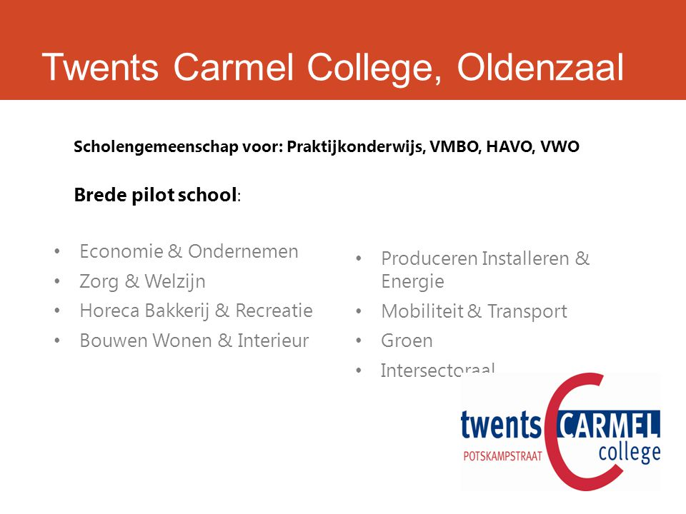 Twents Carmel College, Oldenzaal