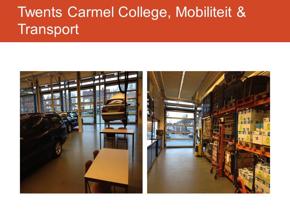 Twents Carmel College, Mobiliteit & Transport