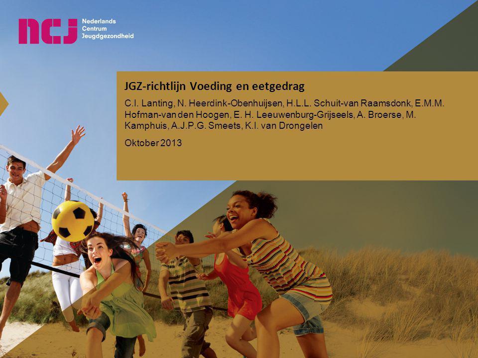 JGZ-richtlijn Voeding en eetgedrag