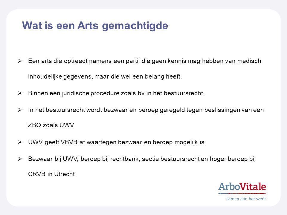 Wat is een Arts gemachtigde