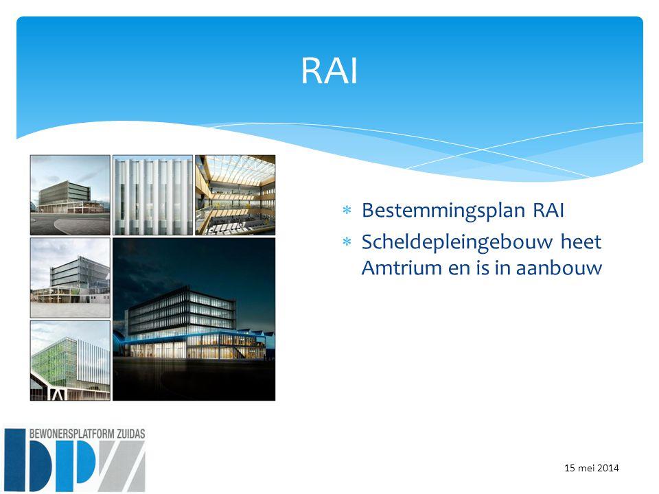 RAI Bestemmingsplan RAI