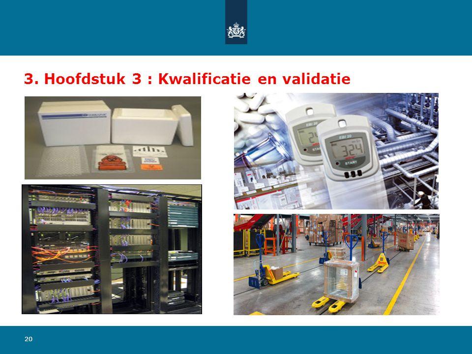3. Hoofdstuk 3 : Kwalificatie en validatie