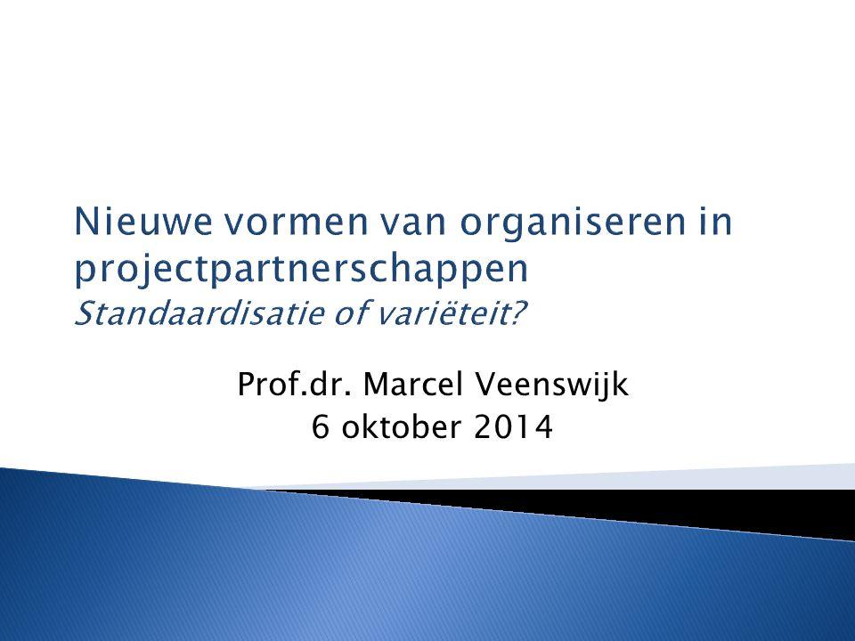 Prof.dr. Marcel Veenswijk 6 oktober 2014
