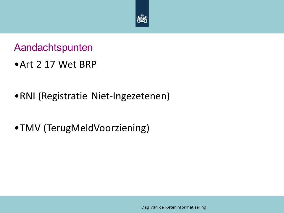 RNI (Registratie Niet-Ingezetenen) TMV (TerugMeldVoorziening)