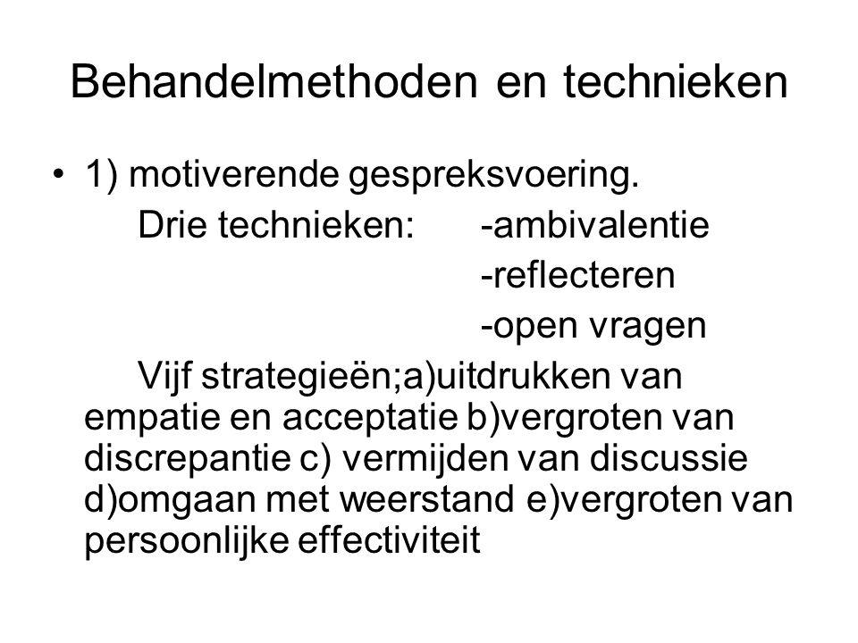 Behandelmethoden en technieken