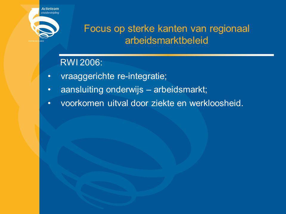 Focus op sterke kanten van regionaal arbeidsmarktbeleid