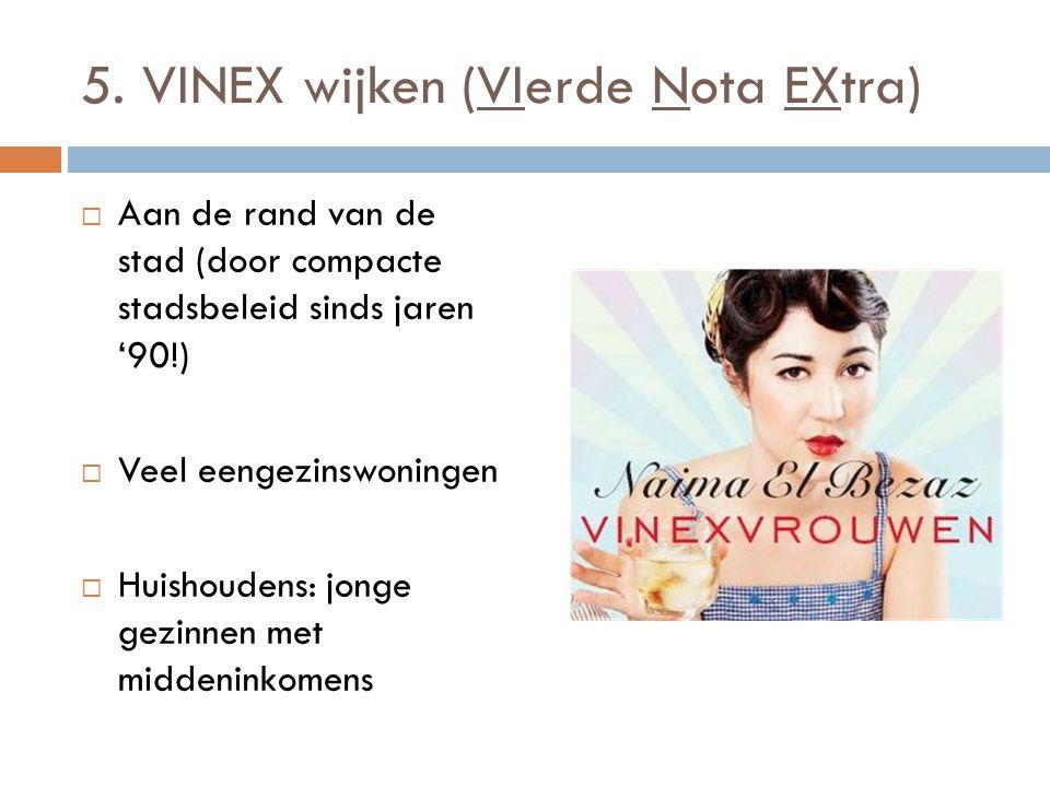 5. VINEX wijken (VIerde Nota EXtra)