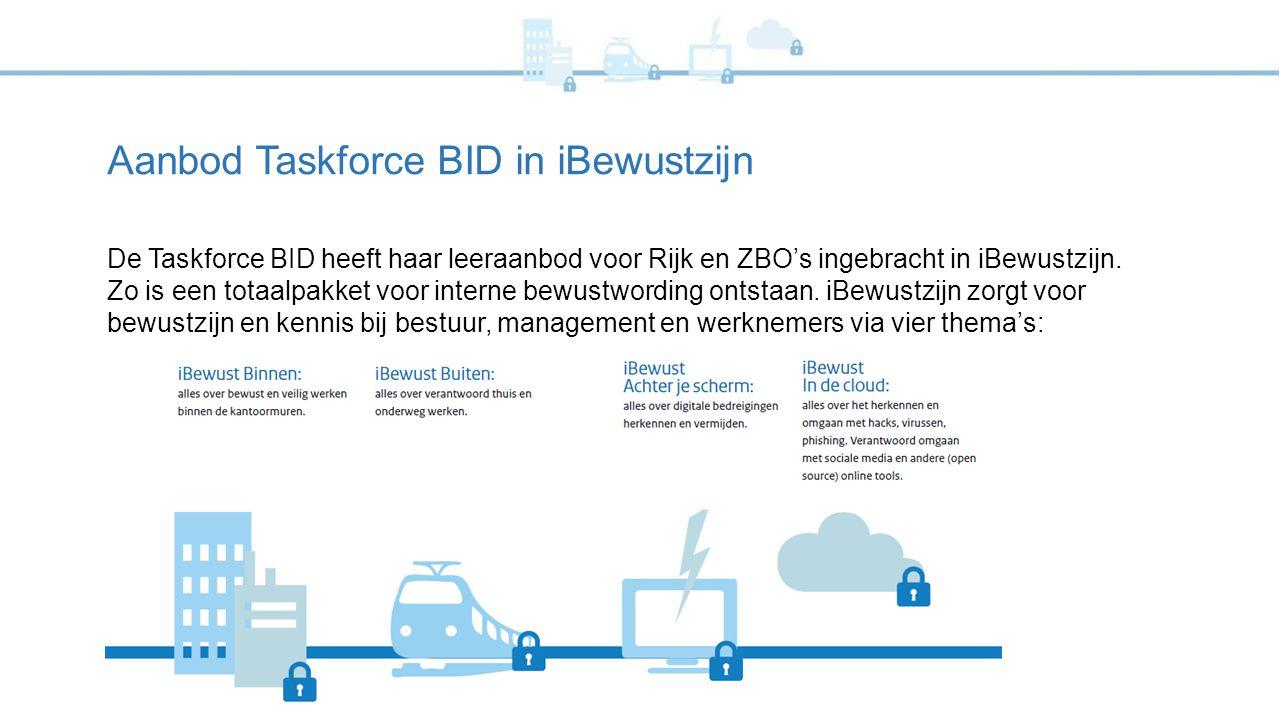 Aanbod Taskforce BID in iBewustzijn