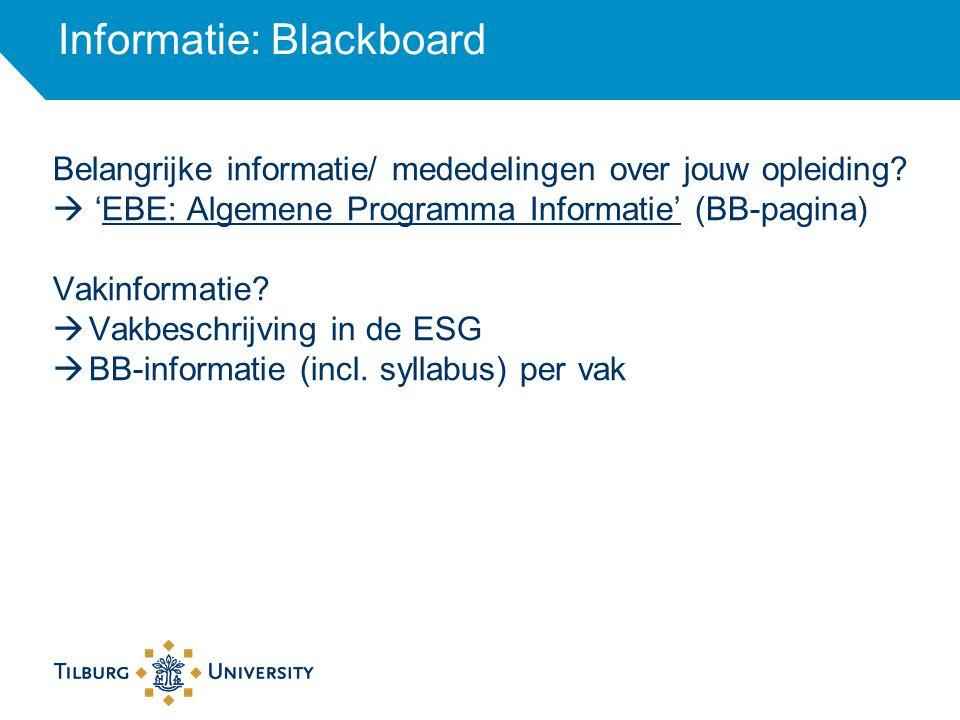 Tilburg University Chaplaincy