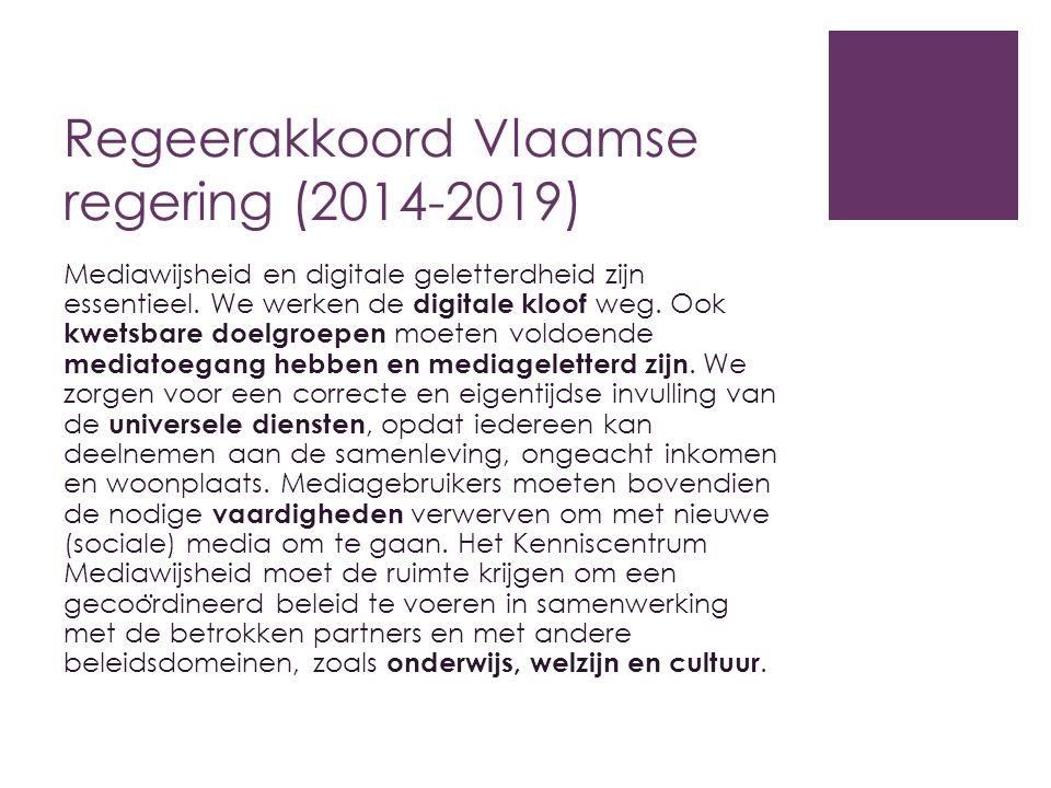 Regeerakkoord Vlaamse regering (2014-2019)