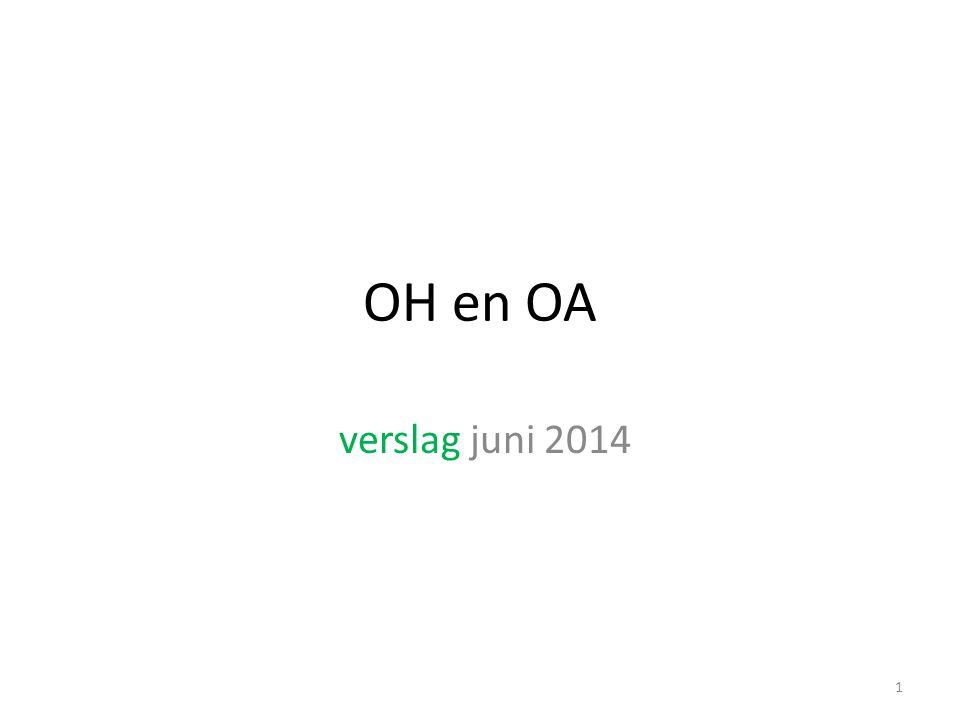 OH en OA verslag juni 2014