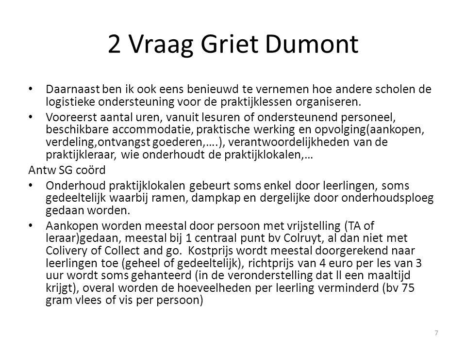 2 Vraag Griet Dumont