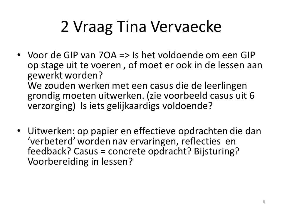2 Vraag Tina Vervaecke