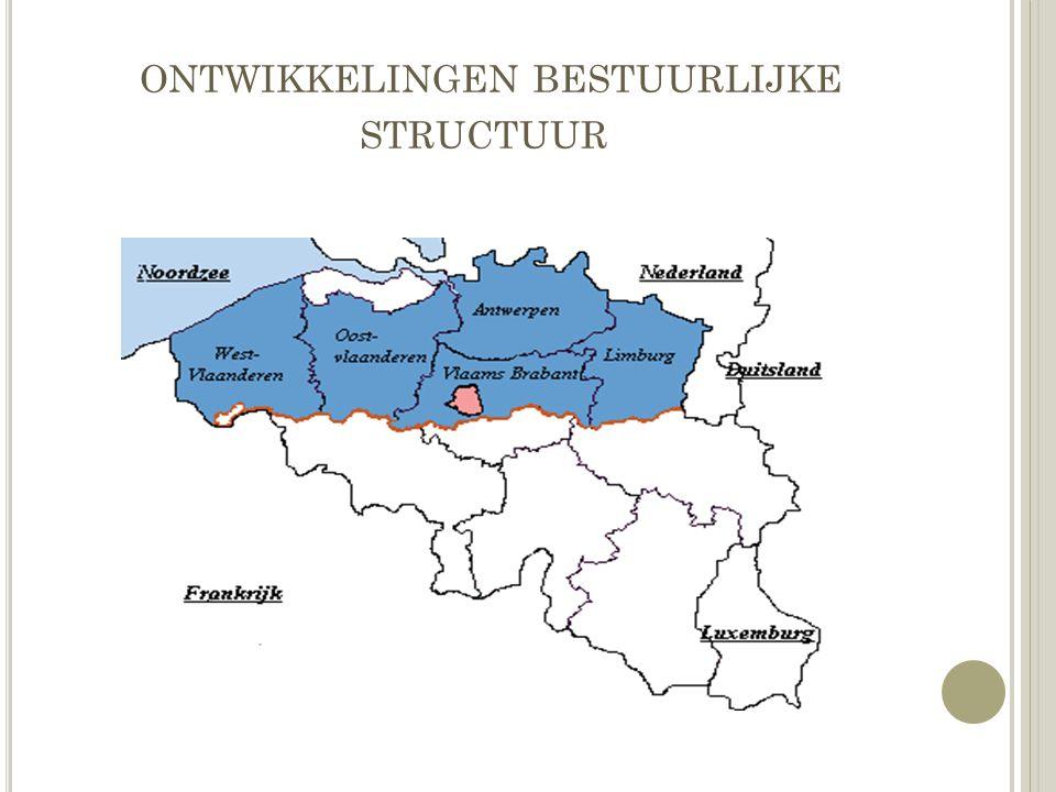 ontwikkelingen bestuurlijke structuur