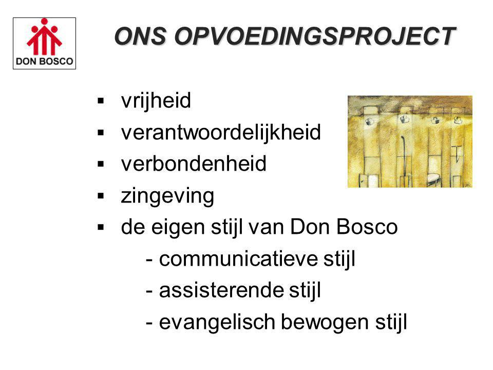 ONS OPVOEDINGSPROJECT