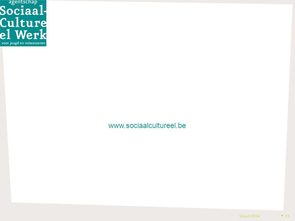10 juni 2014 Uitvoeringsmodaliteiten versie 05092013