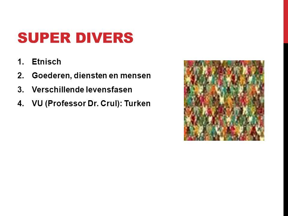 Super Divers Etnisch Goederen, diensten en mensen
