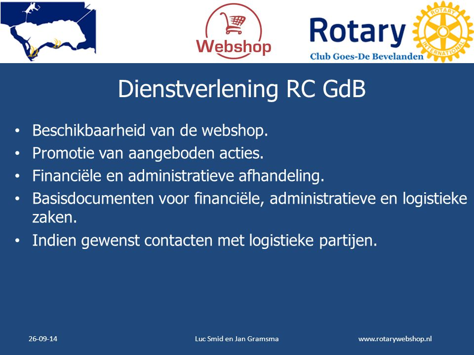 Dienstverlening RC GdB