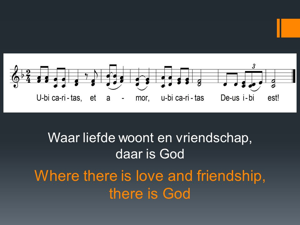 Where there is love and friendship, there is God