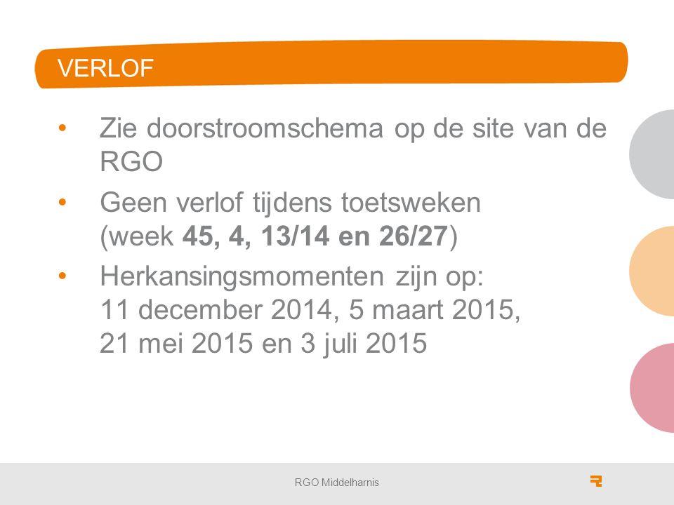 Zie doorstroomschema op de site van de RGO