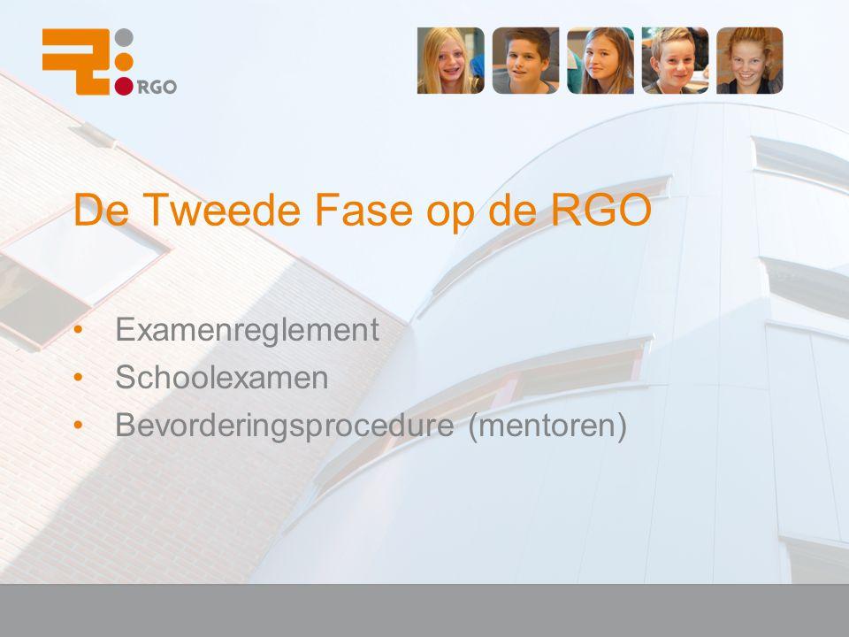Examenreglement Schoolexamen Bevorderingsprocedure (mentoren)