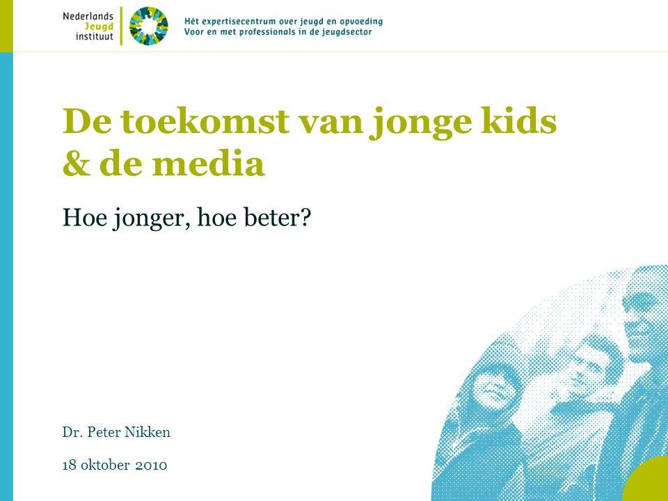 De toekomst van jonge kids & de media