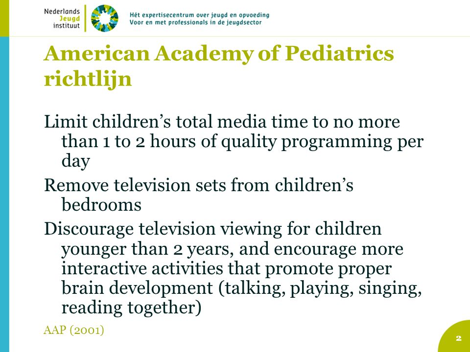 American Academy of Pediatrics richtlijn