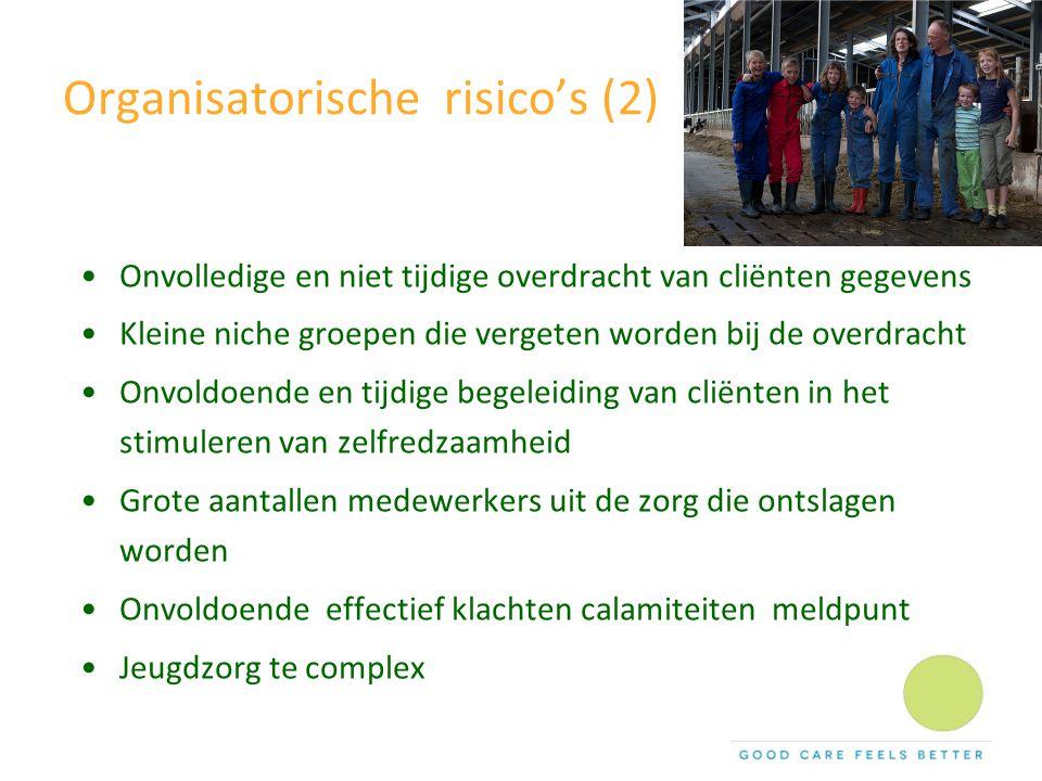 Organisatorische risico's (2)