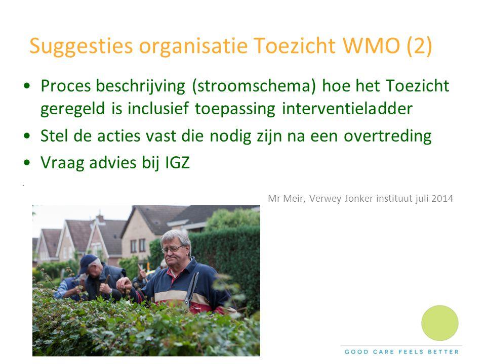 Suggesties organisatie Toezicht WMO (2)