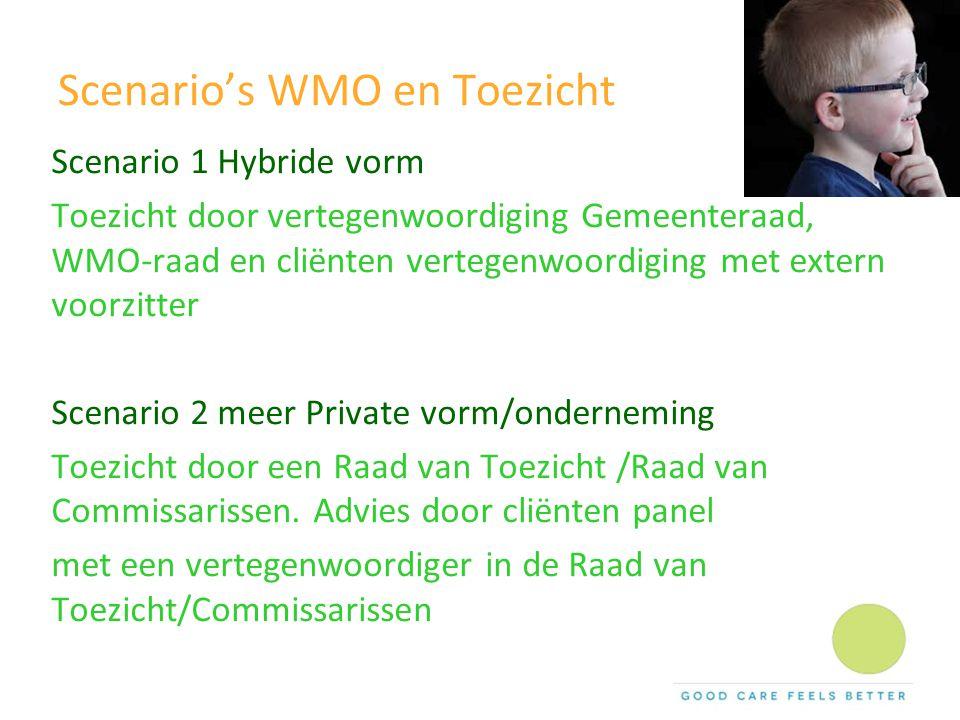Scenario's WMO en Toezicht