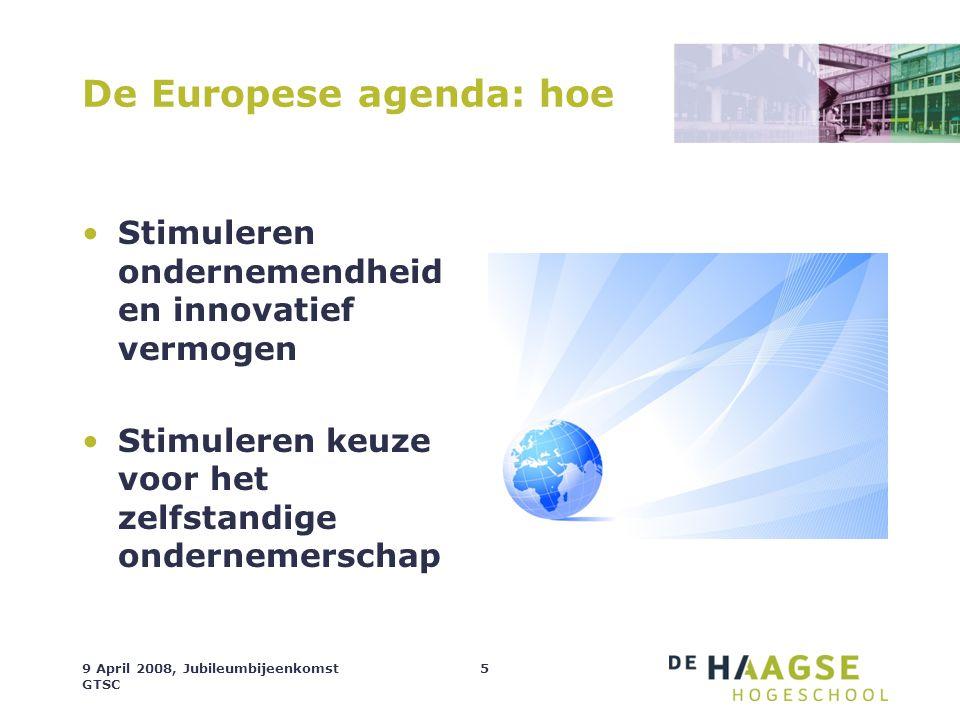 De Europese agenda: hoe