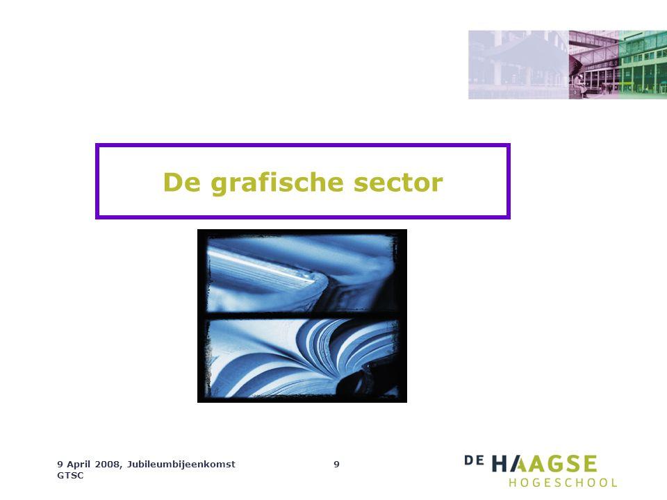 De grafische sector 9 April 2008, Jubileumbijeenkomst GTSC