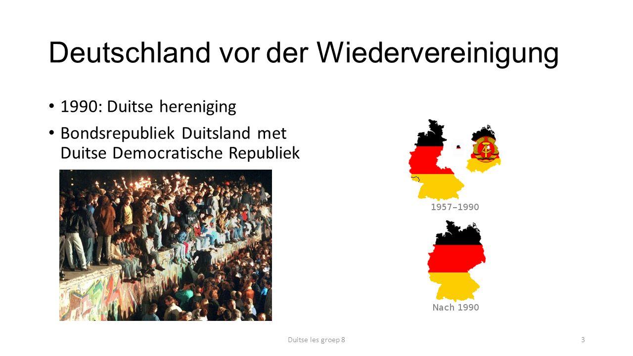Deutschland vor der Wiedervereinigung