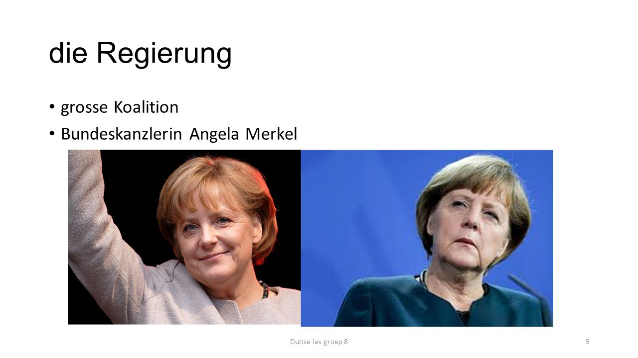 die Regierung grosse Koalition Bundeskanzlerin Angela Merkel