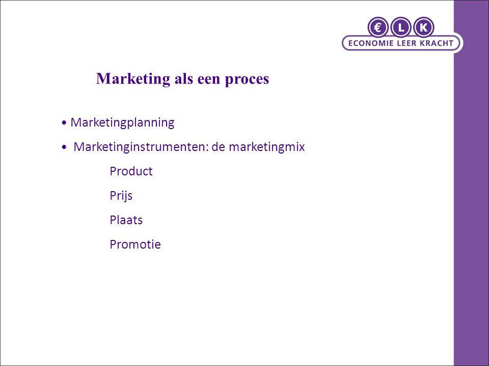 Marketing als een proces
