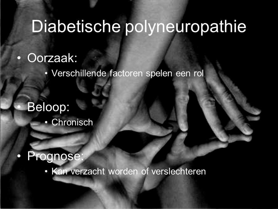 Diabetische polyneuropathie