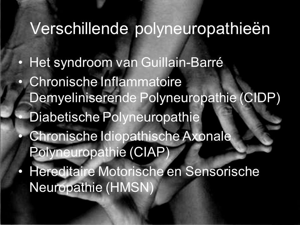 Verschillende polyneuropathieën