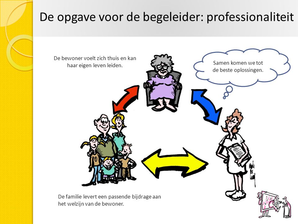 De opgave voor de begeleider: professionaliteit