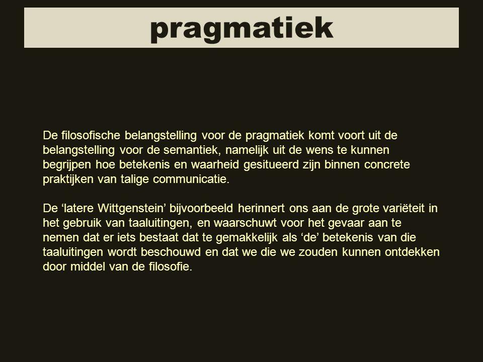 pragmatiek