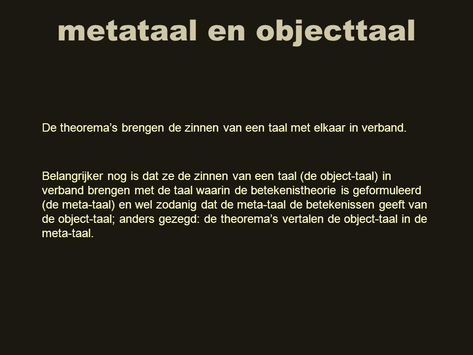 metataal en objecttaal