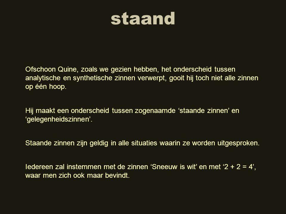 staand