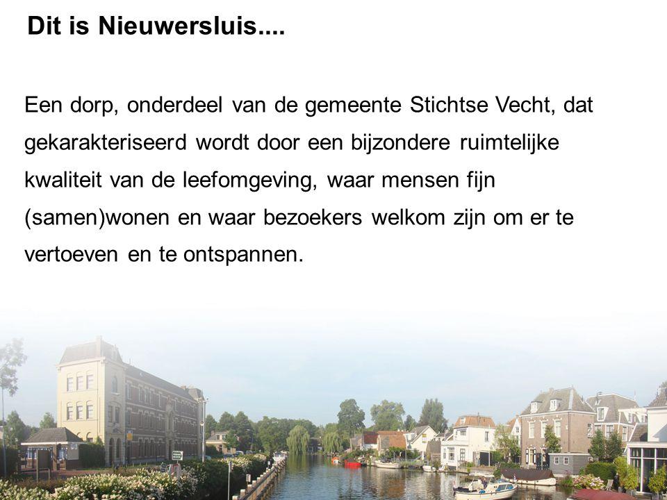 Dit is Nieuwersluis....