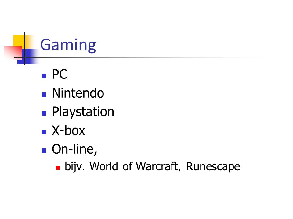 Gaming PC Nintendo Playstation X-box On-line,